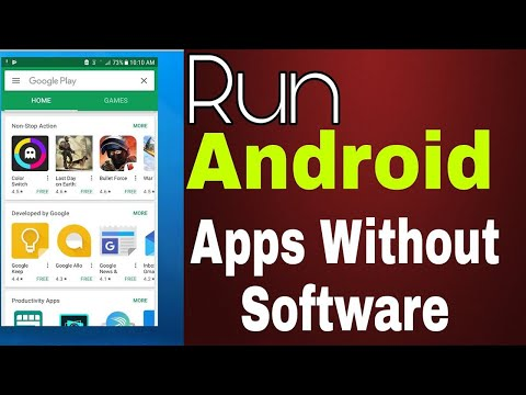 How To Instal Android Apps In Windows Without Any Emulator 2020
