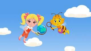 Мультсериал 'Пчелография': Полет вокруг глобуса (2 серия)