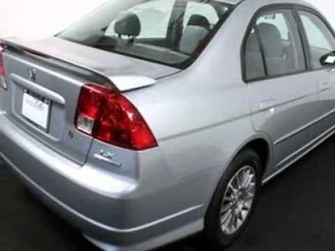 2005 Honda Civic LX SE 4DR A/TRANS,ALLOYS,6 CD STEREO,SPOILER,38 MPG HWY  Sedan   Atlanta, GA   YouTube