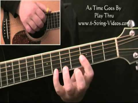 As Time Goes By Fingerstyle Guitar Arrangement Youtube