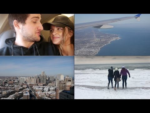 CHICAGO VLOG | Christmastime in The Windy City