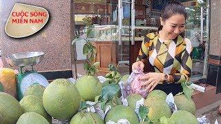 Đi chợ chuẩn bị ăn tết 2019 (gặp mấy chị nhờ mần mai việt kiều) #namviet