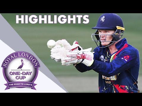 IPL Champion Sam Billings Returns For Kent v Somerset - Royal London One-Day Cup Highlights 2018