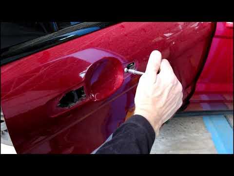 Ремонт замка задней двери на Range Rover Evoque 2,2 Ленд Ровер Эвок 2013 года