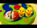 Funny Ducks and Kinder Surprise Eggs