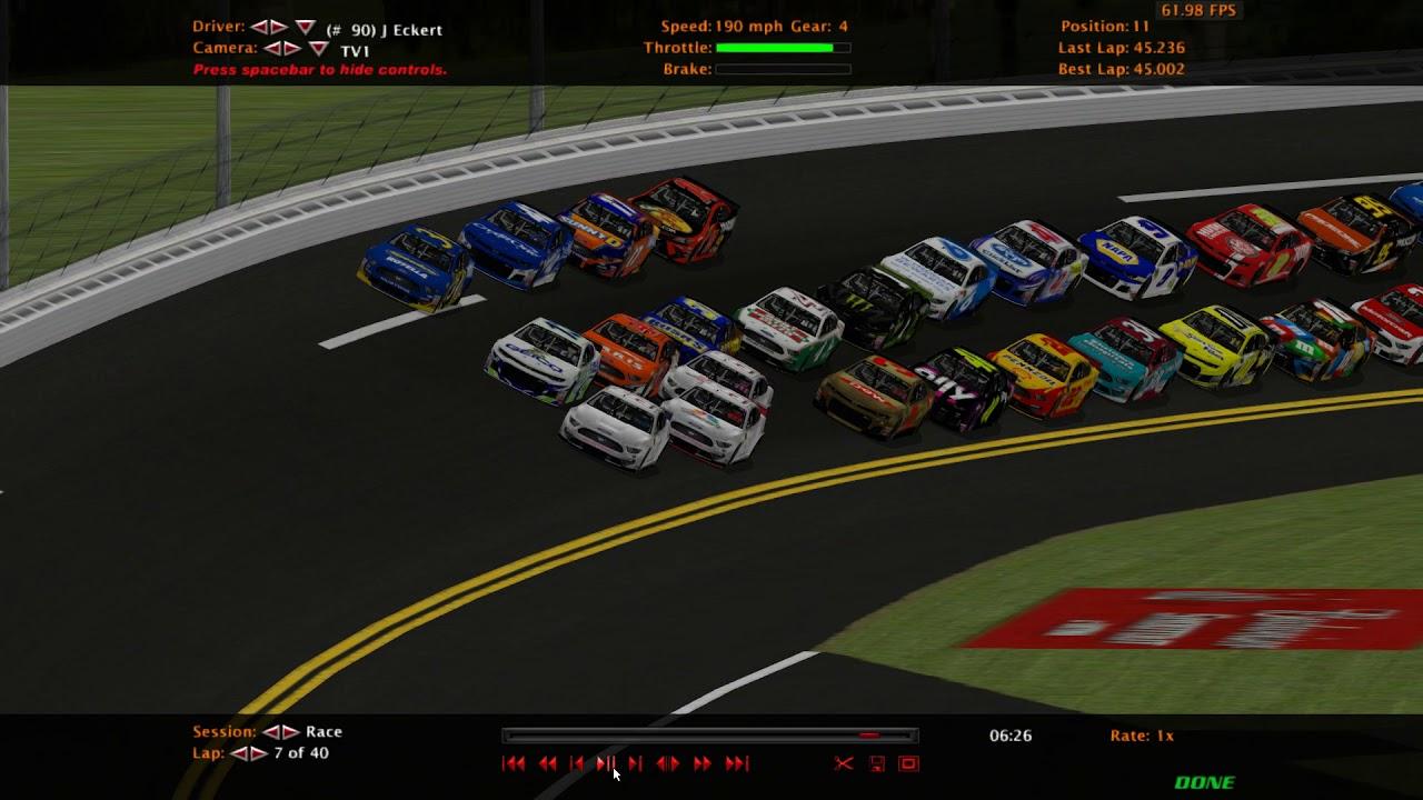 NR2003 - 2019 MENCS Race 1 - Daytona 500 - MENCS19