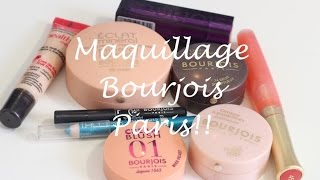 Tutoriel : Maquillage Bourjois Paris!! Thumbnail