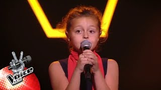 Lisa - 'Domino' | Blind Auditions | The Voice Kids | VTM