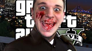 PSYCHO COP MOD | GTA 5 Fun (LSPD:FR Mod)