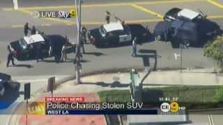 CHP LAPD Chase Stolen Pathfinder