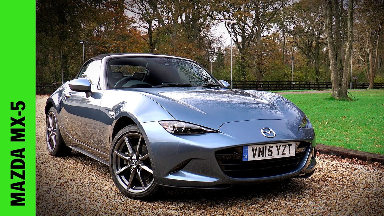 new mazda mx 5 review youtube. Black Bedroom Furniture Sets. Home Design Ideas