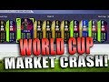 BUY THESE CARDS NOW!  (World Cup Market Crash) | FIFA 18 TRADING TIPS | FIFA 18 ULTIMATE TEAM