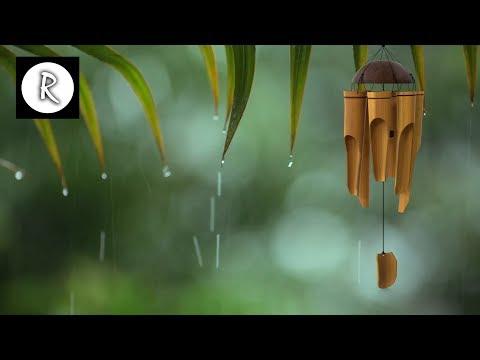 Rain, Thunder, Bamboo Chimes & Wind 12 Hours For Meditation, Relaxation, Sleep, Insomnia