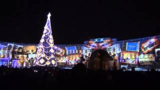 Новогоднее световое шоу на Дворцовой площади