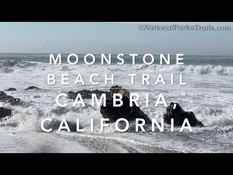 Moonstone Beach Trail, California Coastal National Monument, Cambria, CA, Virtual Treadmill Run