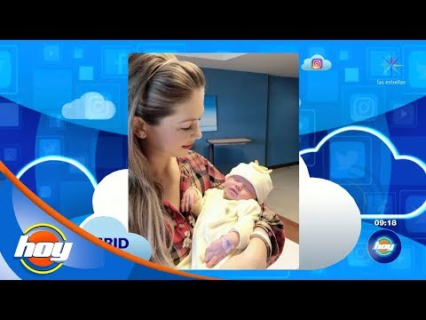 ¡Ingrid Martz presenta a su hija por primera vez! | La Nube | Hoy