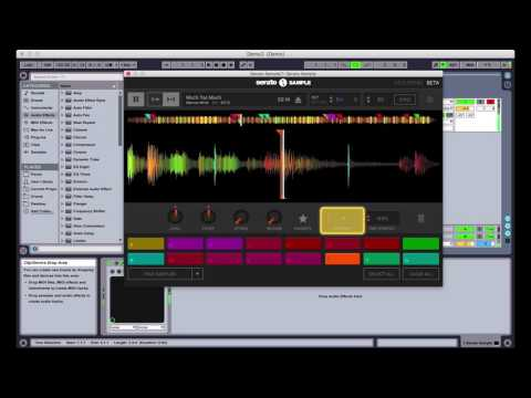 Manipulating samples with pad parameters in Serato Sample