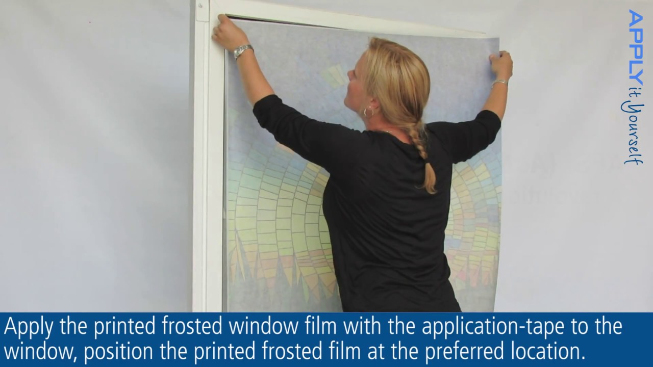 How do you apply window film? How to: Instructions