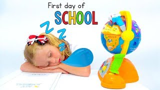 Go to school song - nursery rhyme for kids about first day of school
