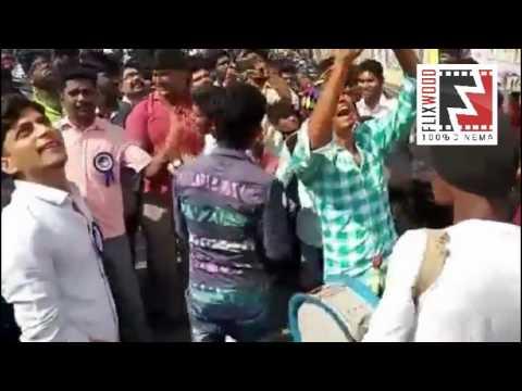 Vijay Fans Celebration #Bhairava Movie...