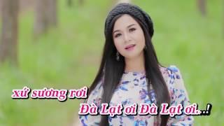 Đà Lạt Hoàng Hôn KARAOKE (Beat Gốc) - Dương Hồng Loan