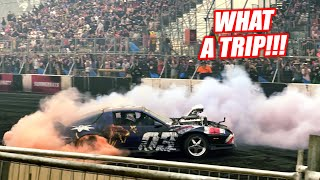 homepage tile video photo for TOAST'S Last BURNOUT in Australia! Letting the Bald Eagles Fly Under HEAVY Smoke!