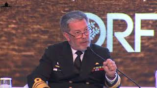 Vice Admiral Tim Barrett, Chief Of Navy, Australia Speaking During A Discussion On Indo-Pacific
