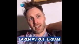 LAREN VS ROTTERDAM: Neem voor mijn een kroepiaatje mee!