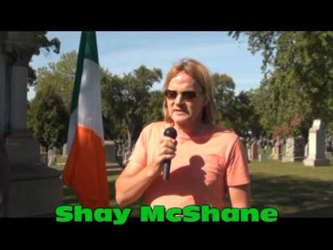 Irish Nationalists of Chicago Obelisk at Mount Olivet Cemetery