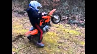 50cc dirt bike Fail