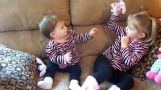 Funny Baby Sisters - Cute Kids!  - Lilah & Londyn