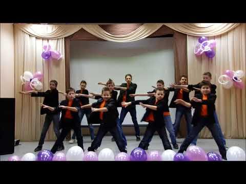 Танец мальчиков юбилей школы 55 лет, школа интернат 33 30 11 12