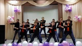 Танец мальчиков юбилей школы 55 лет школа интернат 33 30 11 12