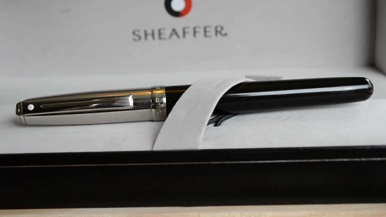 how to write with a sheaffer pen
