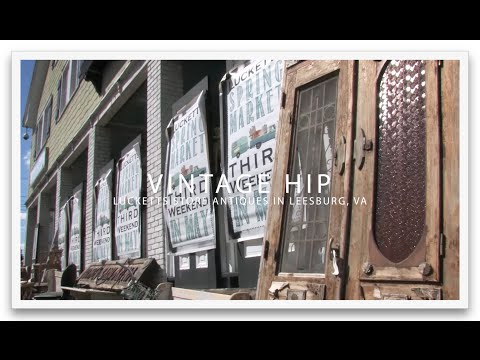 "American Lifestyle TV Ep. 5 ""Vintage Hip: Lucketts Store Antiques"""