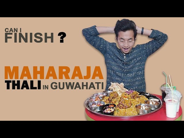 Finish this Maharaja Thali & Get Rs 10K Cash @Central Mall Guwahati