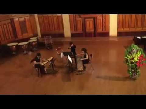 """ASIA-EUROPE' NEW MUSIC FESTIVAL   trio for Đàn Tranh , guzheng and sáo trúc"