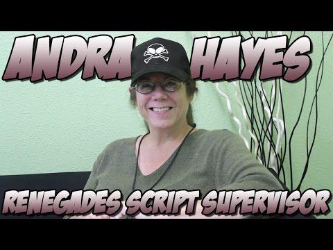 Andra Hayes - Renegades Script Supervisor