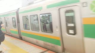 E231系1000番台湘南新宿ライン宇都宮線直通普通宇都宮行