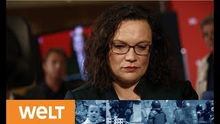 WUNDENLECKEN: Nahles und Kohnen zum SPD-Desaster in Bayern