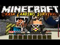 Minecraft Modded Crash Landing A NEW WORLD