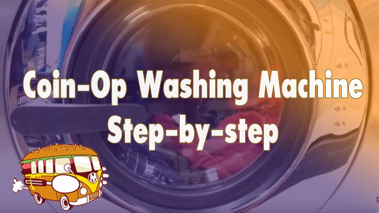 How to Use Coin-Operated Washing Machines and Dryers at Wash & Go