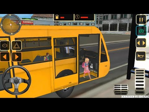 City High School Bus 2018 Driving Simulator | Transport Children To School PRO - Android GamePlay HD