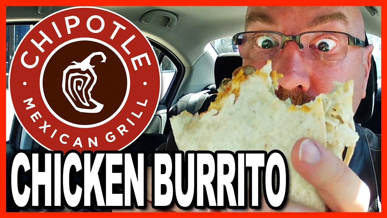 Chipotle's Mexican Grill ★ Chicken Burrito Review (Choking to Death?)