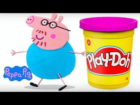 Papai Peppa Pig Massinha Play-Doh | Massinha de Modelar