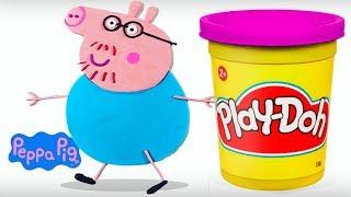 Papai Peppa Pig Massinha Play-Doh   Massinha de Modelar
