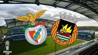 SL Benfica 2-1 Rio Ave FC - Allianz Cup EM DIRETO (Relato)
