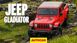Gambar cover Jeep Gladiator 2020 review – How good off-road is the new Jeep pickup? | Autocar