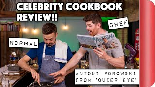 A Chef and Normal Review Celebrity Cookbooks! | Antoni Porowski from Queer Eye