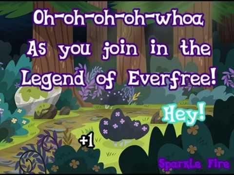 MLP: Legend of everfree - Lyric